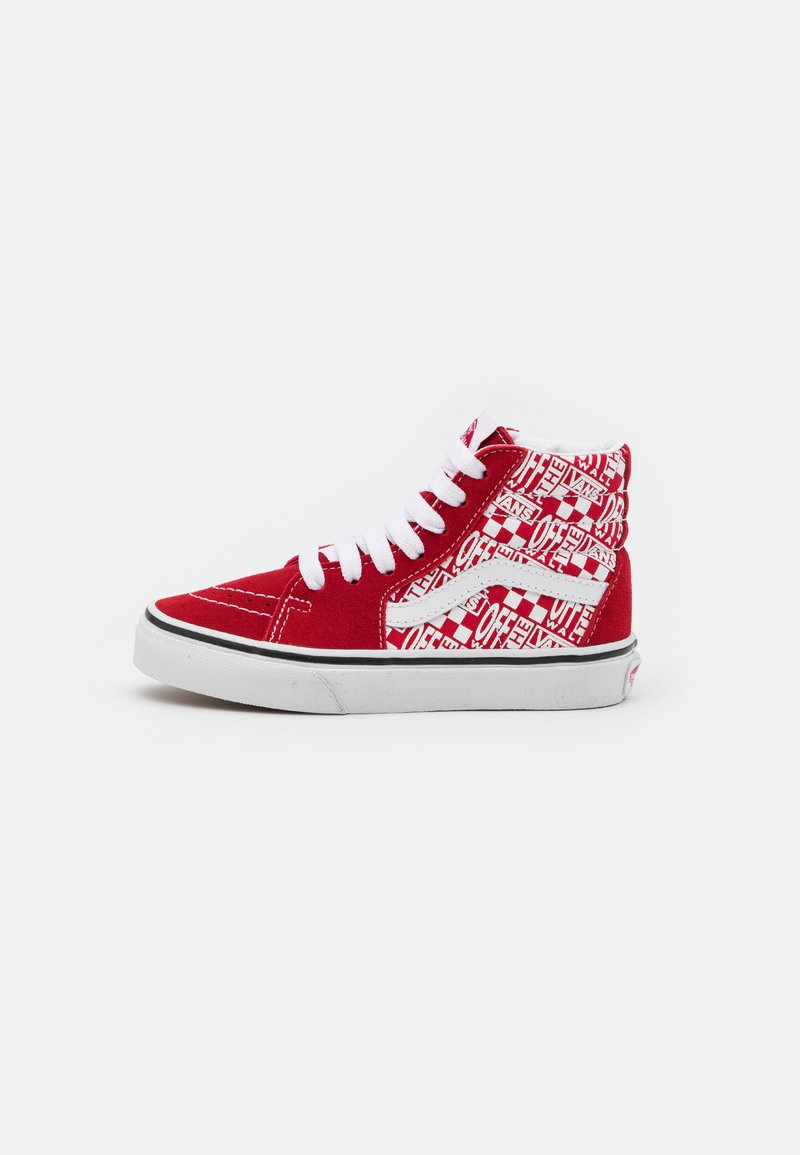 Vans - SK8 UNISEX - High-top trainers - chili pepper/racing red