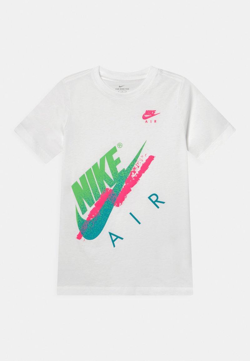 Nike Sportswear - BEACH BRANDMARK - Print T-shirt - white