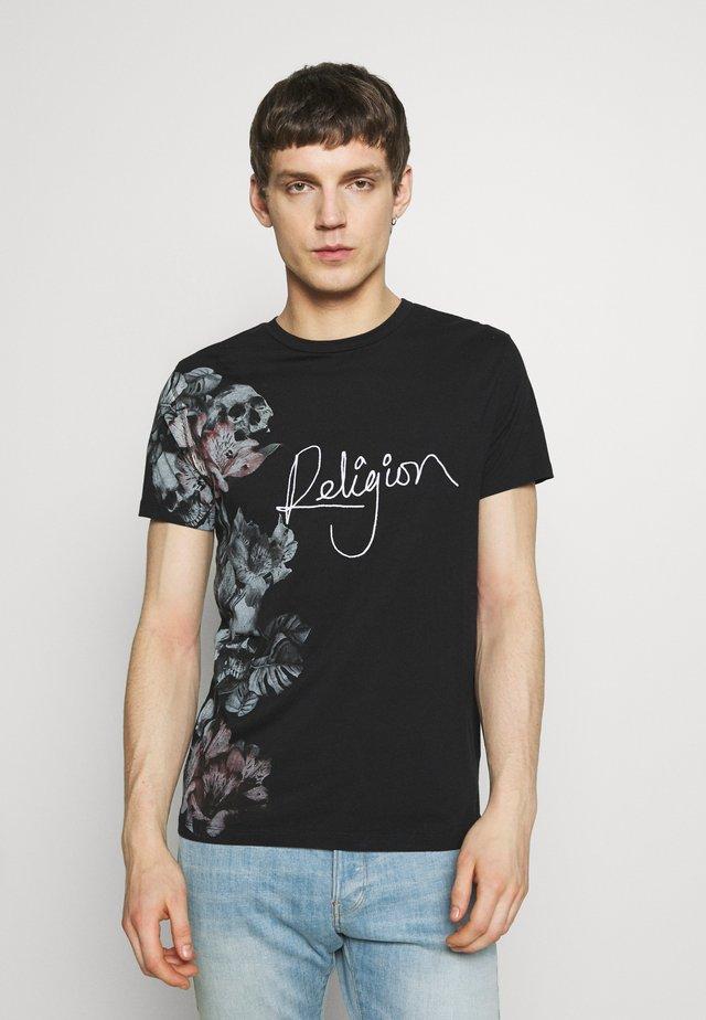 HERO TEE - T-shirt con stampa - black