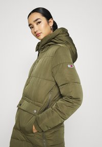 Tommy Jeans - HOODED  - Winter coat - olive tree - 3
