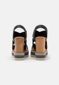 Paloma Barceló - FILIPINAS - Sandály na vysokém podpatku - black - 3