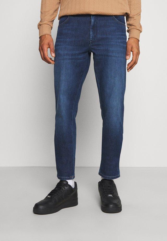 TEXAS - Džíny Straight Fit - velvery blue