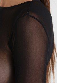 Cosabella - SOIRE HIGH LEG TEDDY - Body - black - 3