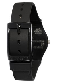 Swatch - LADY BLACK SINGLE - Zegarek - black - 2