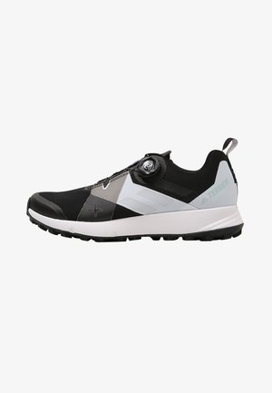 TERREX TWO BOA TRAIL RUNNING SHOES - Trail running shoes - black/clear/white