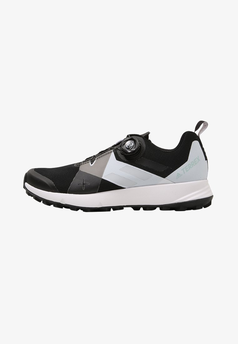 adidas Performance - TERREX TWO BOA TRAIL RUNNING SHOES - Løpesko for mark - black/clear/white