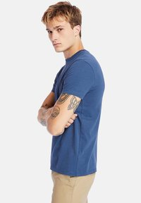 Timberland - Basic T-shirt - dark denim - 3