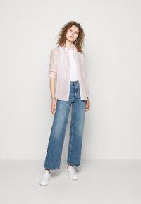 Polo Ralph Lauren - PIECE DYE - Button-down blouse - hint of pink - 1