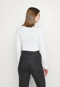 Monki - PARTY - Long sleeved top - offwhite - 2