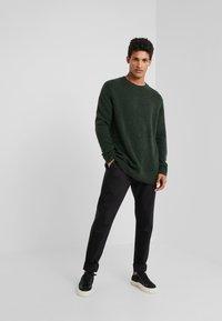 Bruuns Bazaar - CHRIS CREW NECK - Jumper - sage green - 1