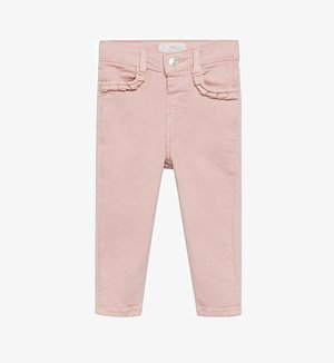 MET RUCHES - Jeans Skinny Fit - roze