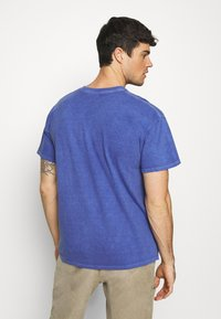 Topman - PARIS - T-shirt basic - blue - 2