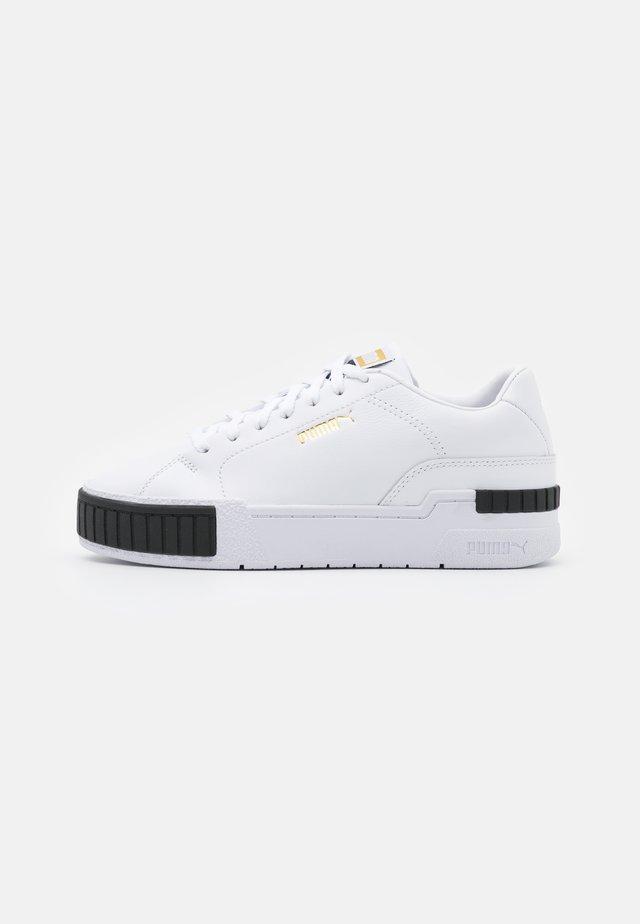 CALI SPORT CLEAN  - Sneakers laag - white/black