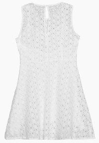 Vero Moda Petite - VMALLIE SHORT DRESS - Vestido informal - snow white - 1