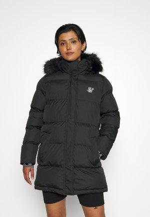 LONGLINE - Winter coat - black