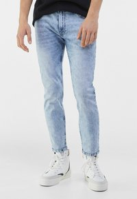 Bershka - Jeans Skinny Fit - light blue - 0