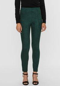Vero Moda - Leggings - Trousers - pine grove - 0