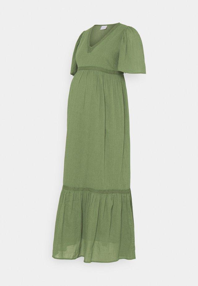 MLMALAK  - Korte jurk - olivine