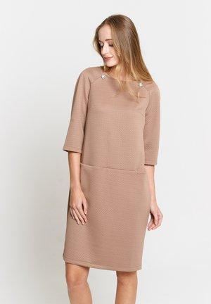 Jumper dress - hellbraun