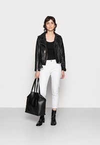 Anna Field - 3 PACK - Topper - black/white /khaki - 0