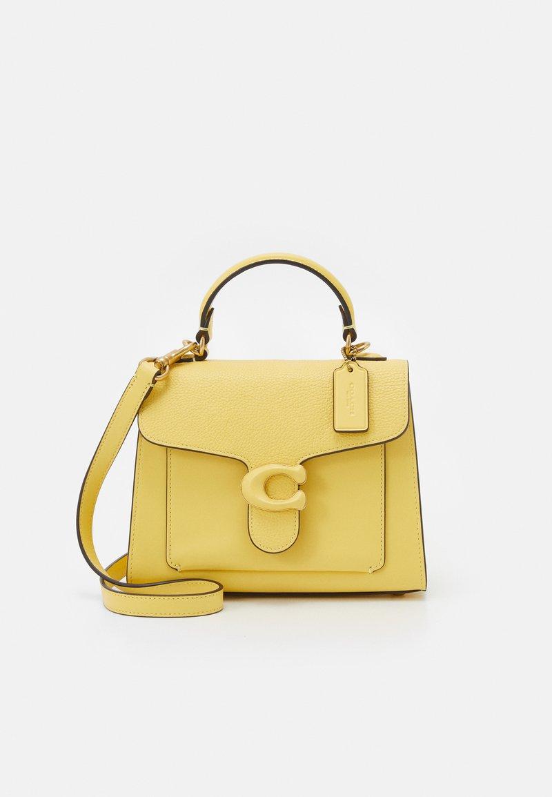 Coach - COVERED CLOSURE TABBY TOP HANDLE - Handbag - retro yellow