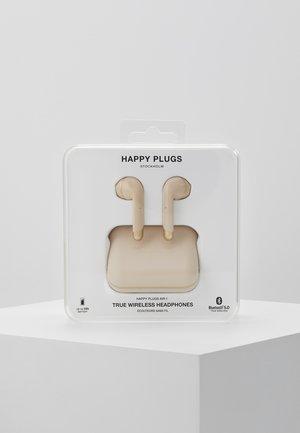 Headphones - gold-coloured