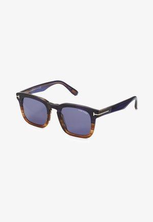 Sunglasses - navy havana