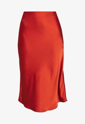 ARLEEN SKIRT - Falda de tubo - burned orange