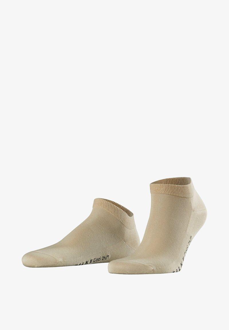 FALKE - COOL 24/7 SNEAKER - Socks - beige