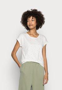 Esprit - T-shirt con stampa - offwhite - 0
