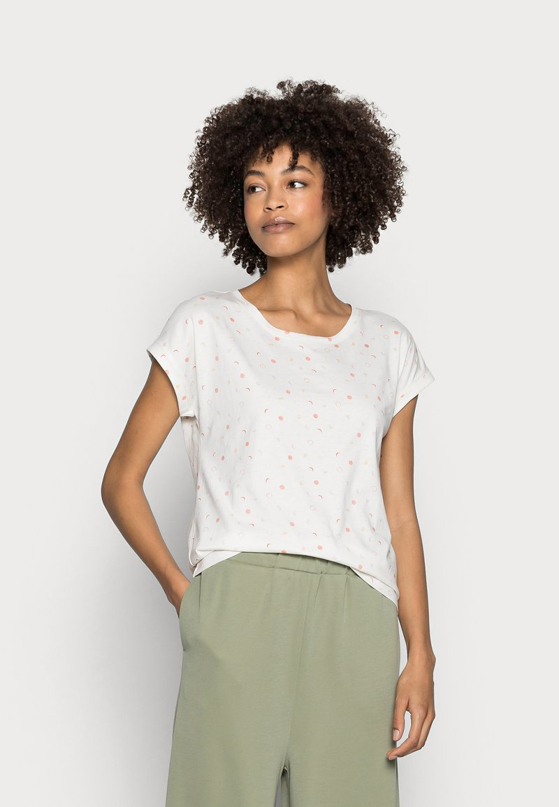 Esprit - T-shirt con stampa - offwhite