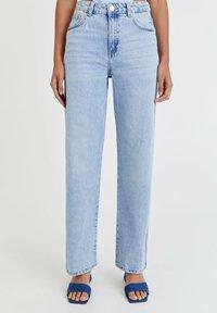 PULL&BEAR - Straight leg jeans - light blue - 0
