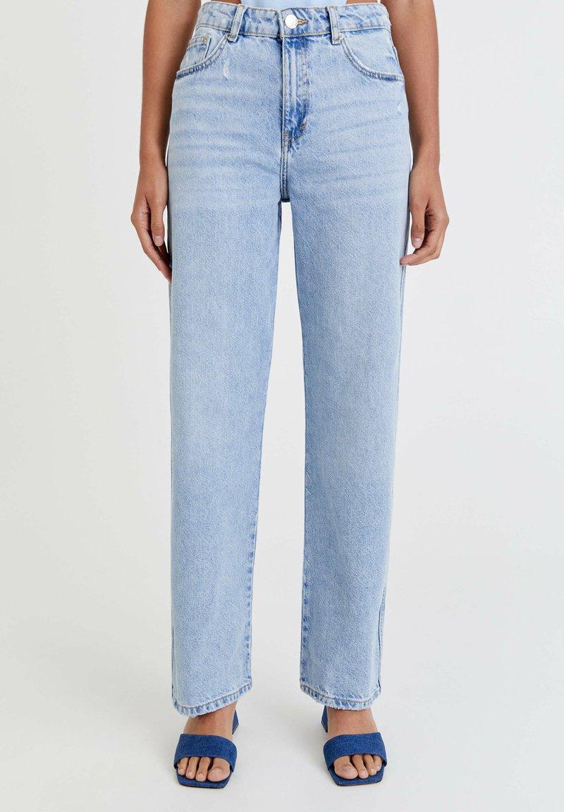 PULL&BEAR - Straight leg jeans - light blue