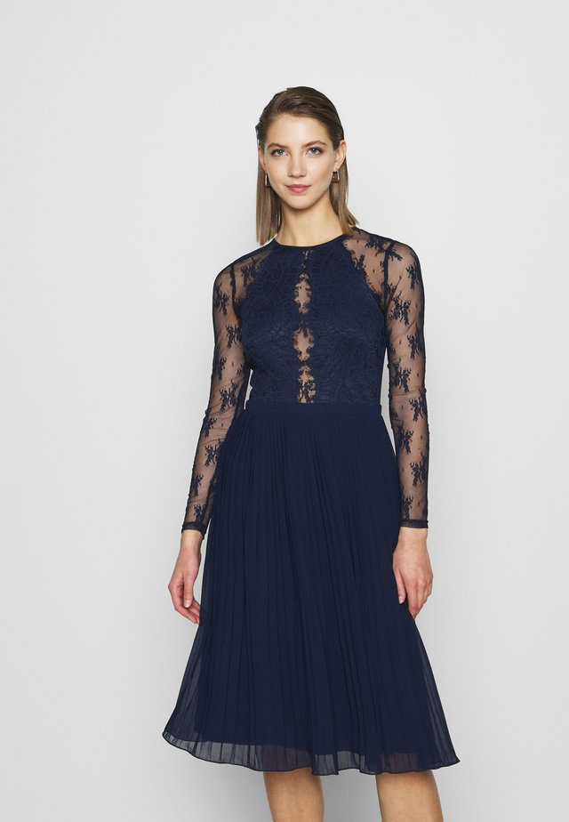 SOMETHING ABOUT HER - Cocktail dress / Party dress - navy