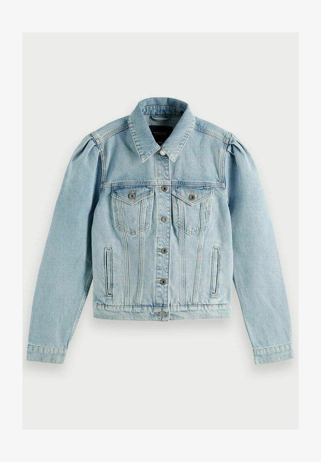 Denim jacket - powder blue