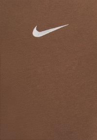 Nike Sportswear - CREW - Sweatshirt - archaeo brown/white - 2