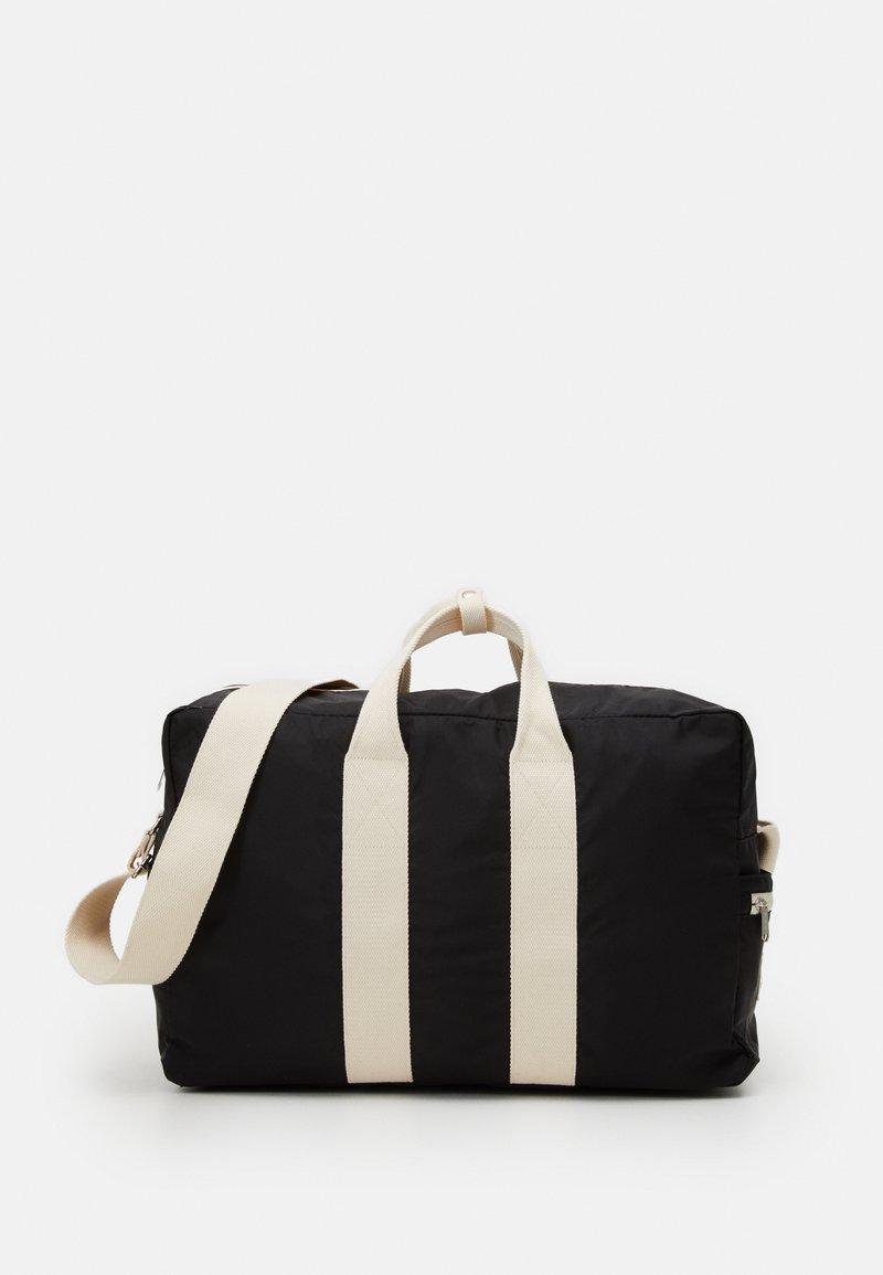 anello - BOSTON BAG UNISEX - Sports bag - black