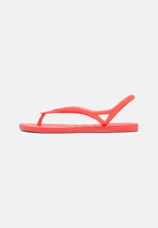 SUNNY - Teenslippers - coral