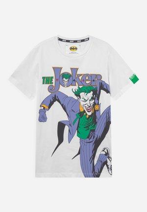 THE JOKER TEE - T-shirt print - white