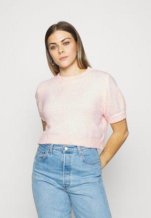 CHENILLE - Basic T-shirt - pink