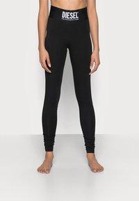 Diesel - FAUSTIN TROUSERS - Pyjama bottoms - black - 0