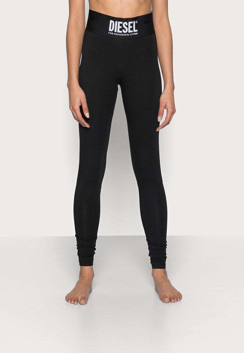 Diesel - FAUSTIN TROUSERS - Pyjama bottoms - black