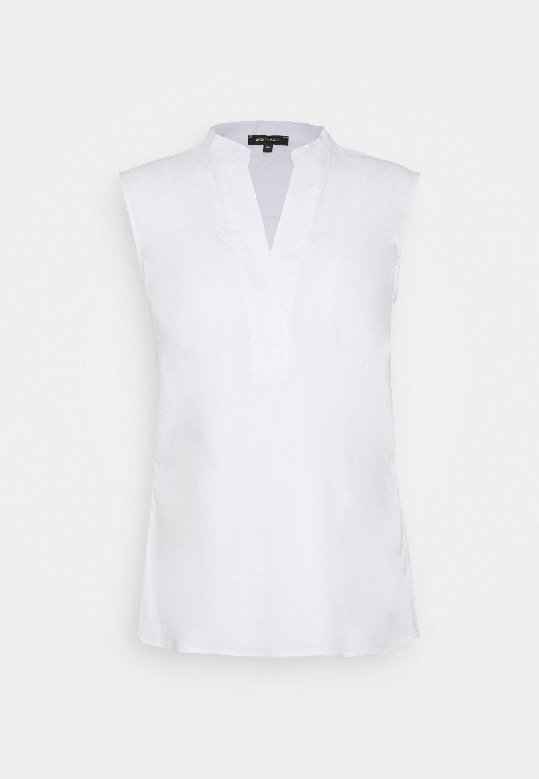 More & Business - Bluser White/hvit