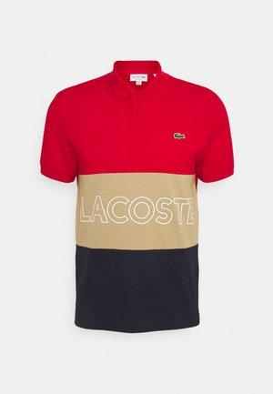 Polo shirt - rouge/viennois marine