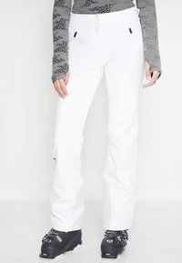Kjus - WOMEN FORMULA PANTS - Snow pants - white - 0