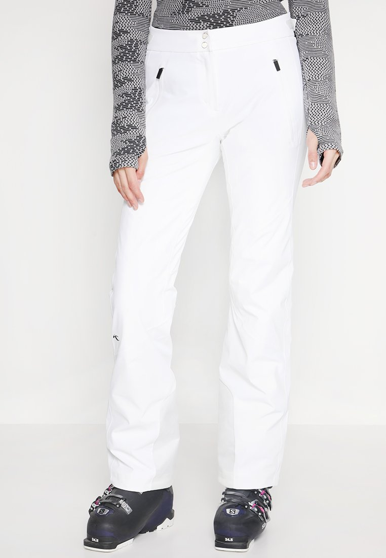 Kjus - WOMEN FORMULA PANTS - Snow pants - white