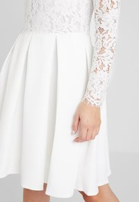 Molly Bracken - LONG SLEEVES - Vestido de cóctel - white - 5