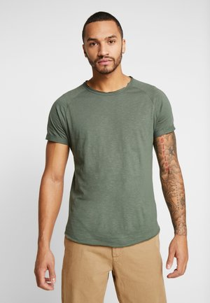 KAS TEE - Basic T-shirt - duck green