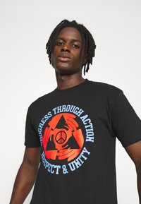 Obey Clothing - RESPECT AND UNITY - Print T-shirt - black - 3