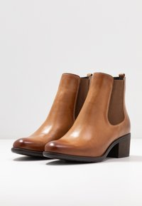 Anna Field - LEATHER - Ankle boots - cognac - 4